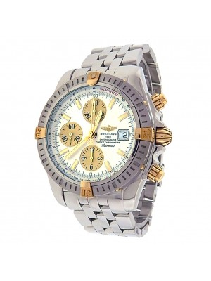 Breitling Chronomat Evolution B13356 Stainless Steel Chronograph Automatic Silver Men's Watch