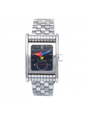 Alain Silberstein BolidoKrono Stainless Steel Automatic Men's Watch BO21