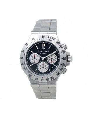 Bvlgari Diagono Chronograph Stainless Steel Automatic Men's Watch CH40STA