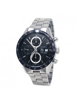 Tag Heuer Carrera Stainless Steel Automatic Chronograph Mens Watch CV2010.BA0786