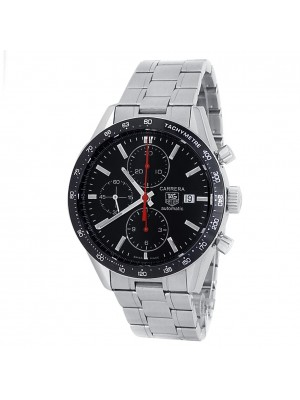 Tag Heuer Carrera Stainless Steel Automatic Black Men's Watch CV2014.BA0794
