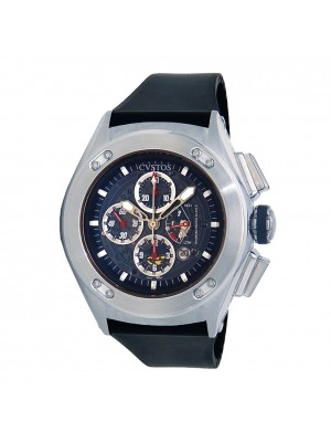 CVSTOS Challenge-R50 Stainless Steel Automatic Chronograph Mens Watch CVQPRNSTGR