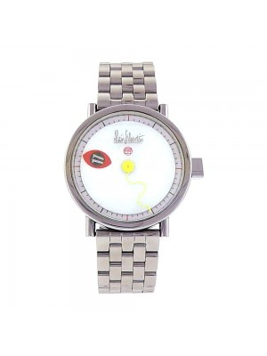 Alain Silberstein Cyclops Stainless Steel White Dial Automatic Men's Watch