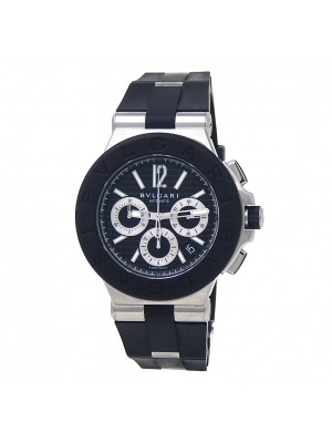 Bvlgari Diagano Stainless Steel Automatic Mens Watch DG 42 SV CH
