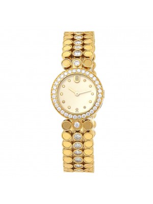 Harry Winston Premier Diamonds 18k Yellow Gold Women's Watch Quartz