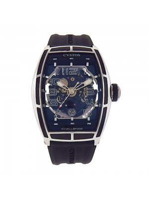 CVSTOS Challenge Jet-Liner SL Stainless Steel and Carbon Automatic Men's Watch