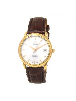 Omega Vintage 18k Yellow Gold Automatic Men's Watch