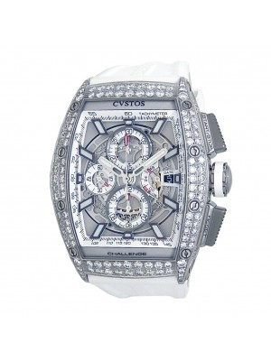 CVSTOS Challenge Chrono GTII Stainless Steel with Diamonds Automatic Men's Watch