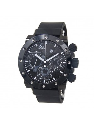 Jacob & Co Epic II Black PVD Stainless Steel Automatic Chrono Men's Watch E2C