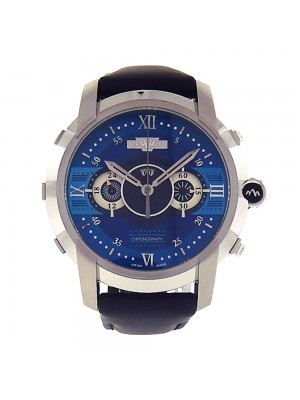 Dewitt Glorious Knight Stainless Steel Automatic Chronograph Watch FTVCHR003.RFB