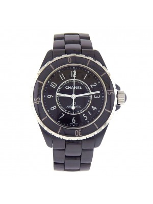 Chanel J12 Black Ceramic Case and Band Automatic Ladies Watch H0685