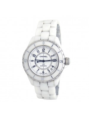 Chanel J12 White Ceramic Automatic Ladies Watch H0970
