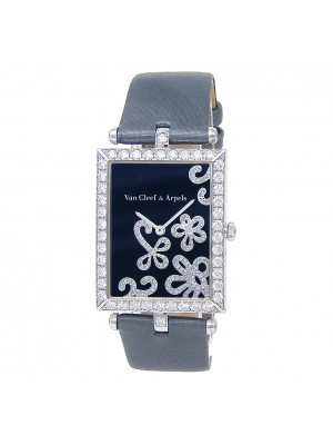 Van Cleef & Arpels Lady Arpels Dentelle White Gold Quartz Ladies Watch HH6075