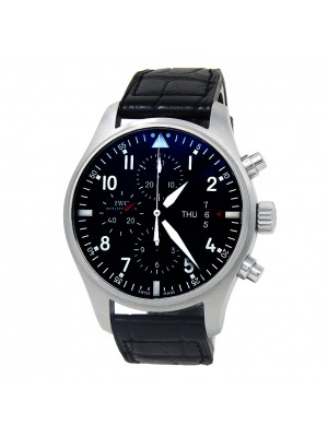 IWC Pilot's Stainless Steel Men's Watch Automatic IW377701