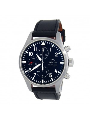IWC Pilot's Chronograph Stainless Steel Automatic Men's Watch IW377709