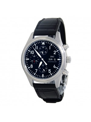 IWC Pilot's Chronograph Stainless Steel Men's Watch Automatic IW377709