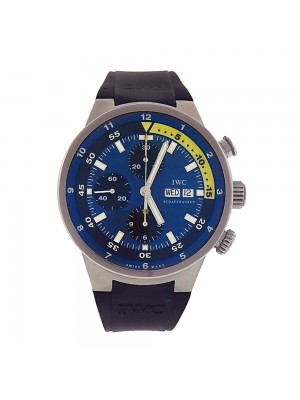 IWC Aquatimer Day Date Stainless Steel Automatic Chronograph Mens Watch IW378203