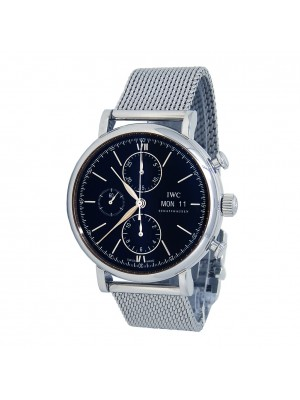 IWC Portofino Chronograph Stainless Steel Automatic Men's Watch IW391010