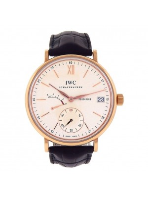 IWC Portofino Eight Days Power Reserve 18k Rose Gold Manual Men's Watch IW510107