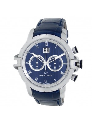 Jaquet Droz Grande Seconde SW Chronograph Steel Blue Men's Watch J029530201