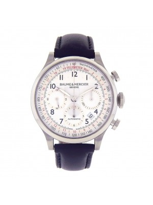 Baume & Mercier Capeland Stainless Steel Automatic Chronograph Watch M0A10082
