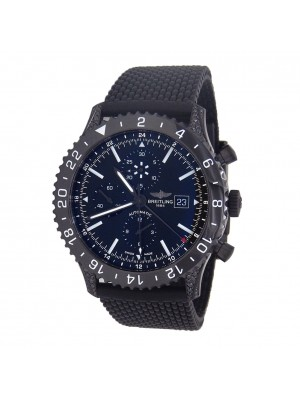 Breitling Chronoliner Black Stainless Steel Automatic Chronograph Watch M24310