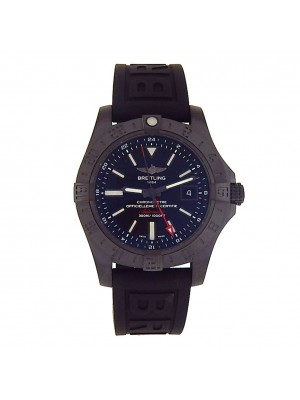 Breitling Avenger II GMT Black PVD Automatic Men's Watch M32390