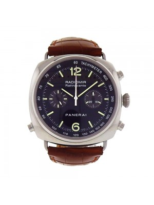 Panerai Radiomir Chronograph Rattrapante Stainless Steel Automatic Watch PAM0214
