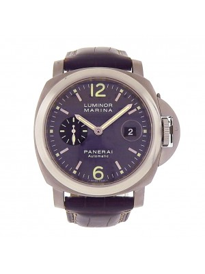 Men's Panerai Luminor Marina PAM00240 Titanium Automatic 44mm Self Wind Watch