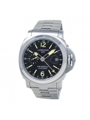 Panerai Luminor GMT Stainless Steel Automatic Men's Watch PAM00297