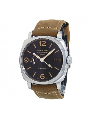 Panerai Radiomir 1940 GMT Stainless Steel Automatic Black Men's Watch PAM00657