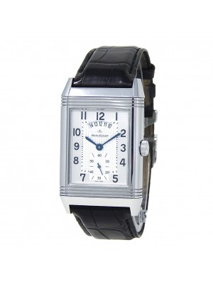 Jaeger LeCoultre Grande Reverso Duo Stainless Steel Hand Winding Watch Q3748421