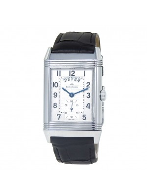 Jaeger-LeCoultre Grande Reverso Duo Stainless Steel Men's Watch Manual Q3748421