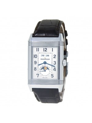 Jaeger-LeCoultre Grand Reverso Calendar Stainless Steel Watch Manual Q3758420