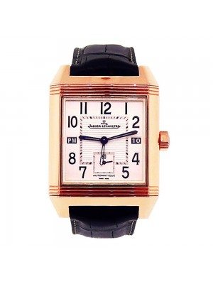Jaeger-LeCoultre Reverso Squadra Hometime 18K Rose Gold Automatic Watch Q7002420