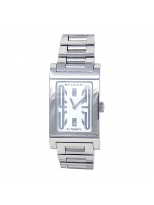 Bvlgari Rettangolo Stainless Steel Automatic Ladies Watch RT45S