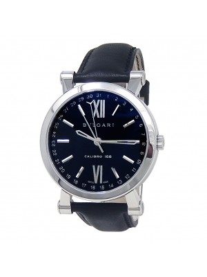 Bvlgari Sotirio Calibro 168 Stainless Steel Automatic Men's Watch SB43BSLD
