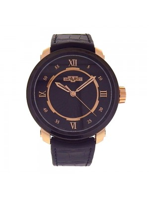 Dewitt Twenty-8-Eight Black PVD and 18k Rose Gold Automatic Mens Watch T8.AU.011