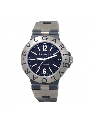 Bvlgari Diagono Titanium Automatic Men's Watch TI 44 TA