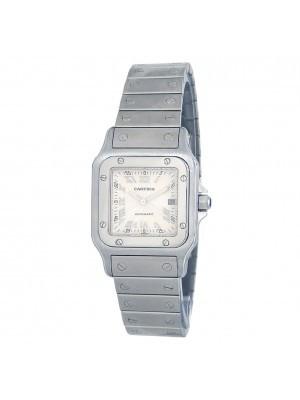 Cartier Santos Galbee Stainless Steel Automatic Men's Watch W20055D6