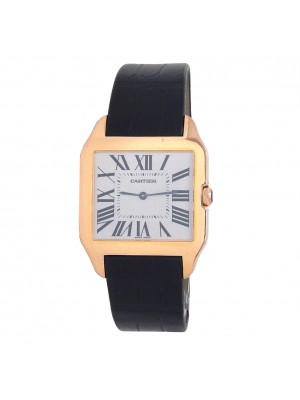 Cartier Santos Dumont 18k Rose Gold Manual Men's Watch W2006951
