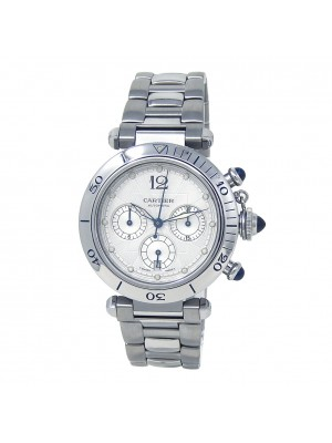 Cartier Pasha Seatimer Stainless Steel Automatic Men's Watch W31030H3