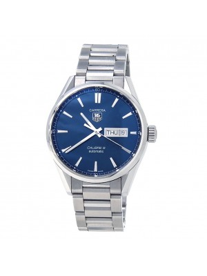 Tag Heuer Carrera Calibre 5 Stainless Steel Automatic Men's Watch WAR201E.BA0723