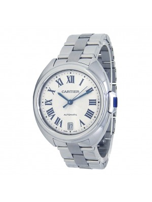 Cartier Cle de Cartier Stainless Steel Automatic Mid-Size Watch  WSCL0005