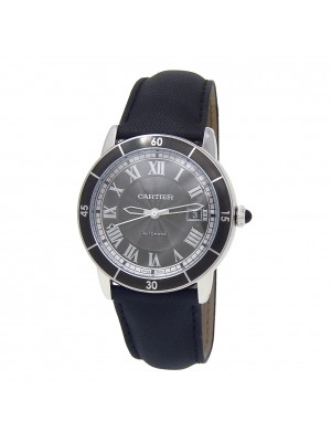 Cartier Ronde Croisiere de Cartier Stainless Steel Automatic Mens Watch WSRN0003