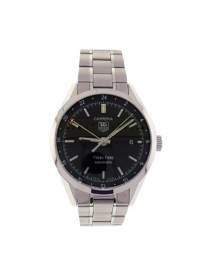 Tag Heuer Carrera Twin-Time WV2115.BA0787 Stainless Steel Automatic Watch
