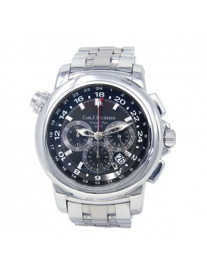 Carl F. Bucherer PatraviTravelTec Stainless Steel Auto Men's Watch 0010620083321