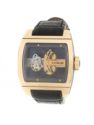 Corum Golden Bridge Tourbillon 18k Rose Gold Skeleton Watch 022.702.55/0F81 0000