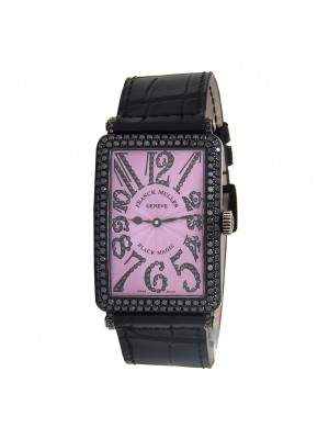 Franck Muller Long Island Black Magic 18k Blackened White Gold Manual 1000 SC D