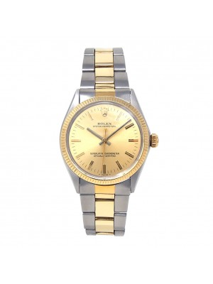Rolex Vintage Oyster Perpetual Stainless Steel & 14k Yellow Gold Automatic 1005